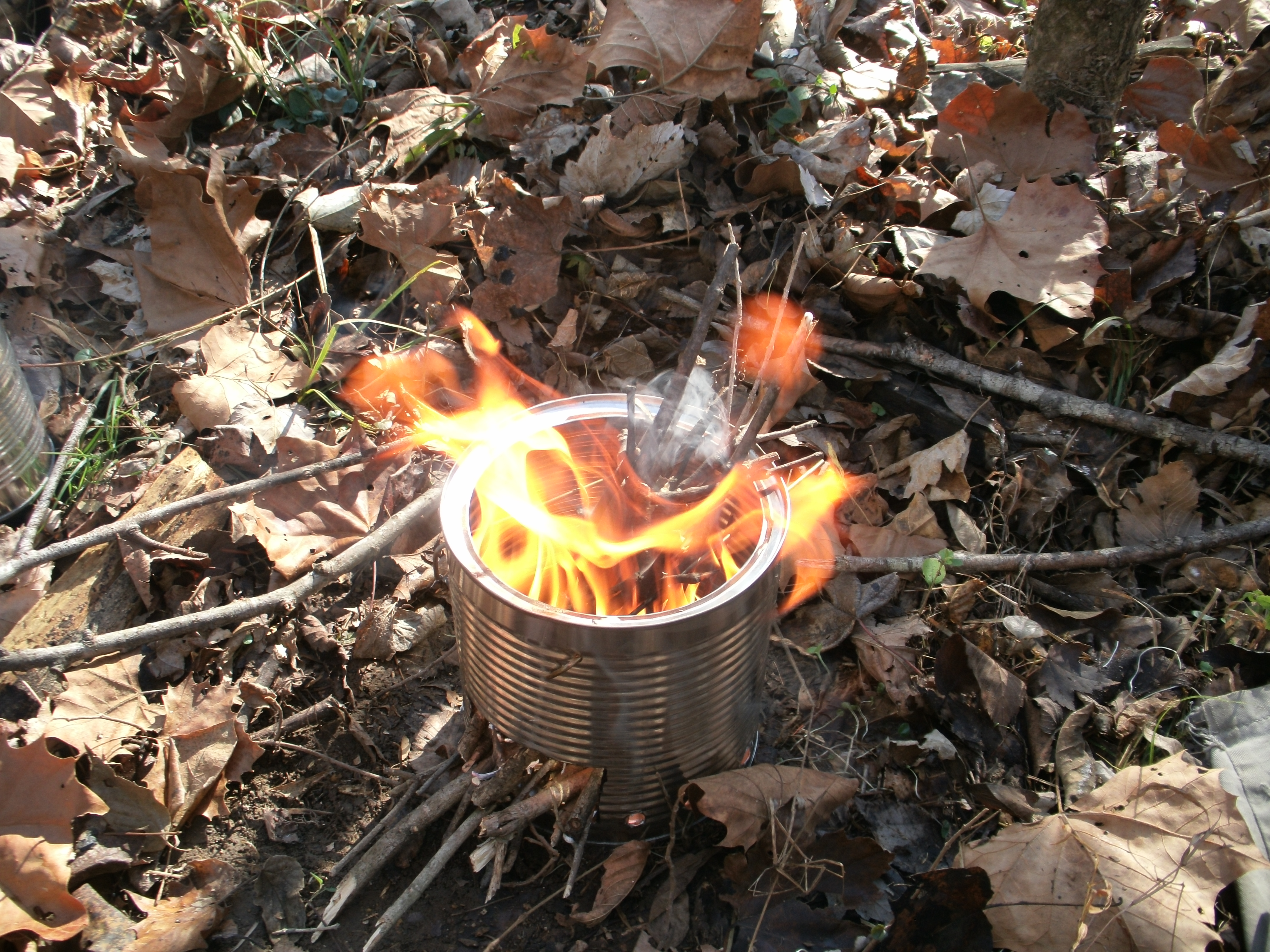 Coffee Can Hobo Stove Survival Sherpa