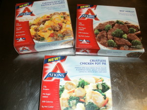 Atkins TV Dinners
