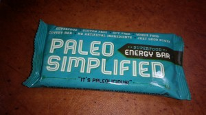 Paleo Simplified Energy Bars